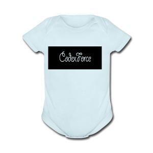 Codex Logo - Short Sleeve Baby Bodysuit