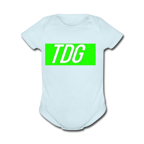 TDG Limited Merch! - Organic Short Sleeve Baby Bodysuit