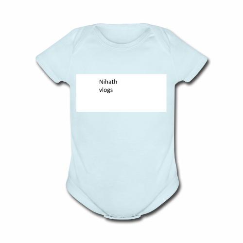 nihatrh - Organic Short Sleeve Baby Bodysuit