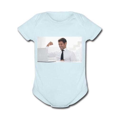 Sherman - Organic Short Sleeve Baby Bodysuit