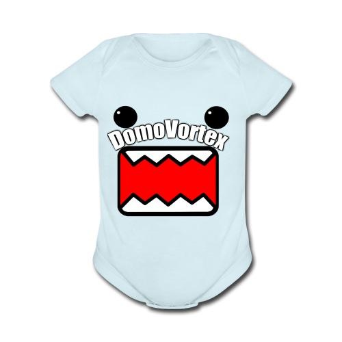DomoVortex - Organic Short Sleeve Baby Bodysuit