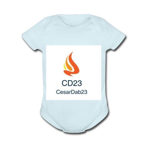 Dab for life - Organic Short Sleeve Baby Bodysuit