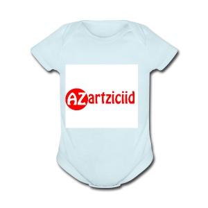 art ziciid - Short Sleeve Baby Bodysuit