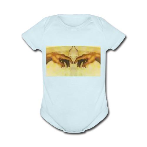 The eye of the beholder - Organic Short Sleeve Baby Bodysuit