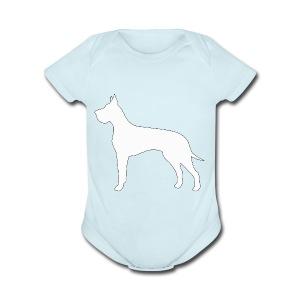 Great Dane - Short Sleeve Baby Bodysuit
