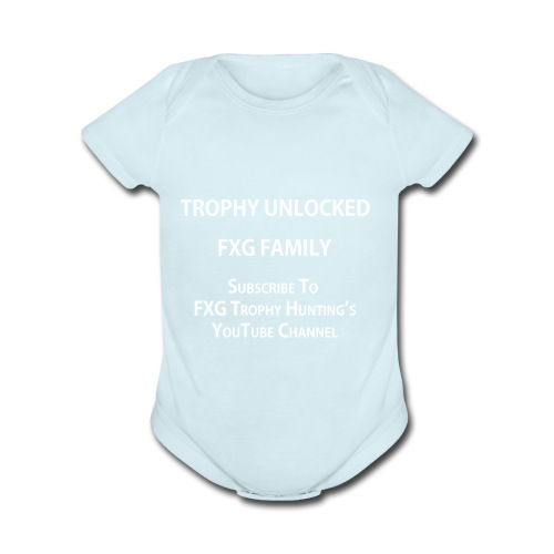 FXG Family Trophy Unlocked - Organic Short Sleeve Baby Bodysuit