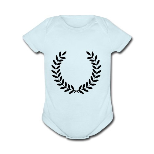 the design of - Organic Short Sleeve Baby Bodysuit