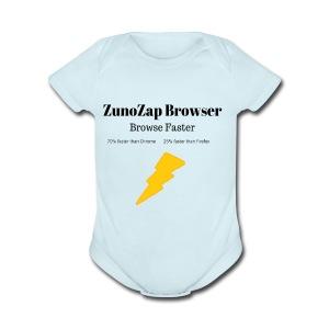ZunoZap Merch (2nt design) - Short Sleeve Baby Bodysuit