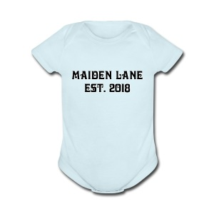 Maiden Lane Street wear official - Short Sleeve Baby Bodysuit