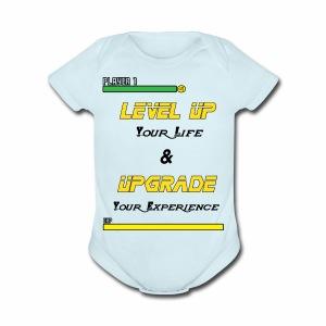 Level Up - Short Sleeve Baby Bodysuit