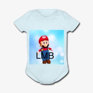 LMB Logo - Short Sleeve Baby Bodysuit