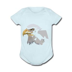 eagle - Short Sleeve Baby Bodysuit
