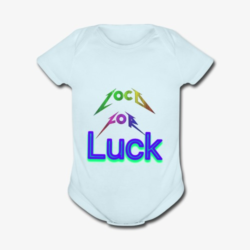 Loco for luck - Organic Short Sleeve Baby Bodysuit