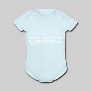 Old School Gamer - Short Sleeve Baby Bodysuit
