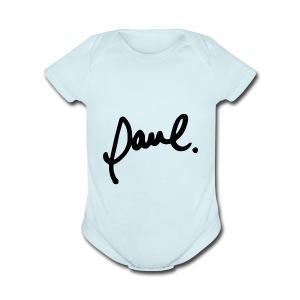 download 1 - Short Sleeve Baby Bodysuit