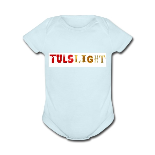 TULSLight products - Organic Short Sleeve Baby Bodysuit