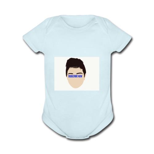 Fernando Cortez merck - Organic Short Sleeve Baby Bodysuit