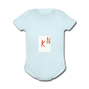 GET SOME MY MRECH IS OS HOT BABE - Short Sleeve Baby Bodysuit