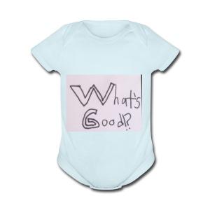 What's Good!? - Short Sleeve Baby Bodysuit
