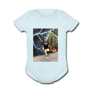 IMG 6830 - Short Sleeve Baby Bodysuit