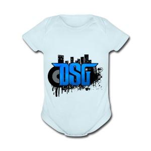 DSG Graffiti - Short Sleeve Baby Bodysuit