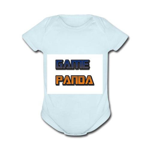 Game Panda Casuals New design at cheap Price - Organic Short Sleeve Baby Bodysuit