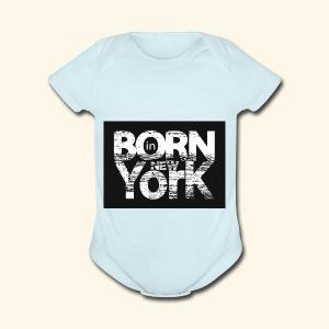 NewYork - Short Sleeve Baby Bodysuit