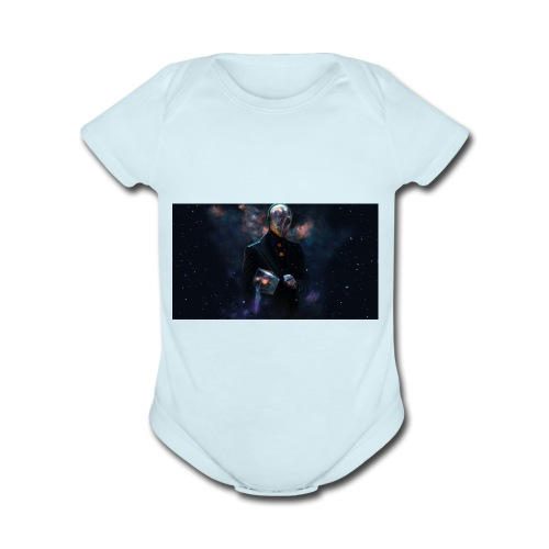 Galaxy - Organic Short Sleeve Baby Bodysuit