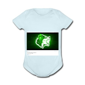 Wolf gamer - Short Sleeve Baby Bodysuit