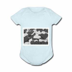 For all the love I have for you! - Short Sleeve Baby Bodysuit