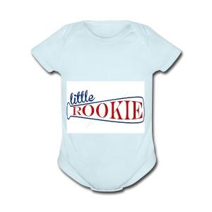 Little Rookie American - Short Sleeve Baby Bodysuit