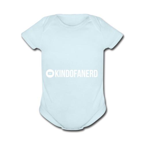 Kindofanerd Youtube Channel - Organic Short Sleeve Baby Bodysuit
