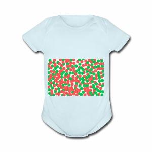 bright - Short Sleeve Baby Bodysuit