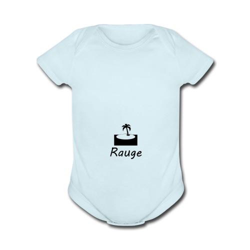 Rauge iV - Organic Short Sleeve Baby Bodysuit