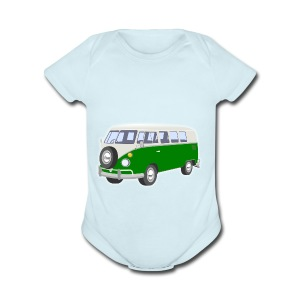 Vus - Short Sleeve Baby Bodysuit