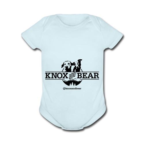 knox-and-bear - Organic Short Sleeve Baby Bodysuit