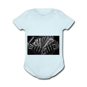 Color Changed BANK money - Short Sleeve Baby Bodysuit