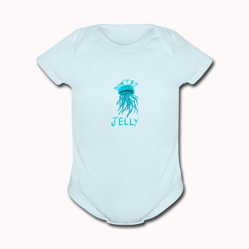 Jellyfish - Organic Short Sleeve Baby Bodysuit