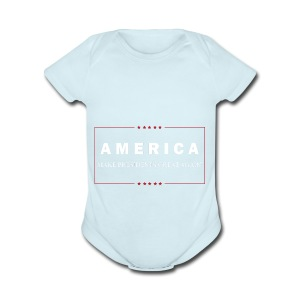 Make Presidents Great Again - Short Sleeve Baby Bodysuit