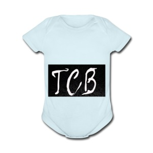 The Crazy Bros flag - Short Sleeve Baby Bodysuit