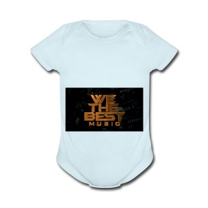 We The Best Music - Short Sleeve Baby Bodysuit