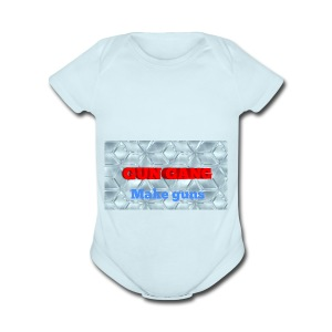 THE GUNS - Short Sleeve Baby Bodysuit