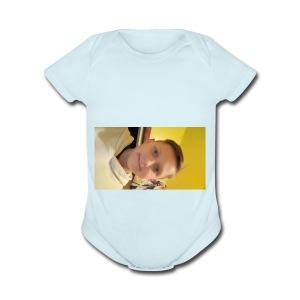 15211733535991424185807 - Short Sleeve Baby Bodysuit