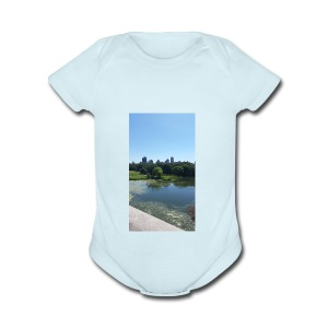 New York scenery - Short Sleeve Baby Bodysuit