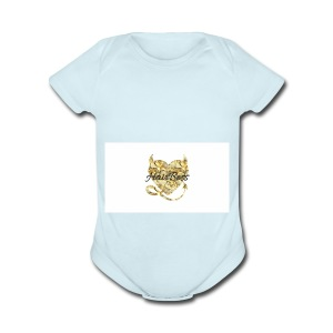 HairBoss - Short Sleeve Baby Bodysuit