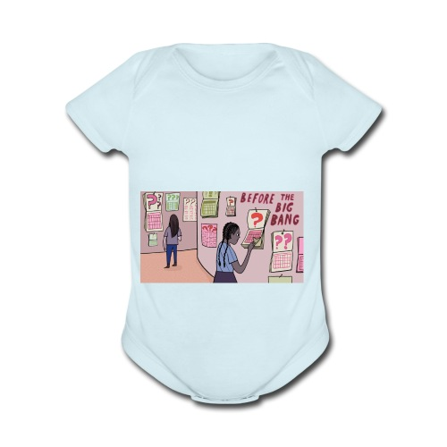 bb3 - Organic Short Sleeve Baby Bodysuit