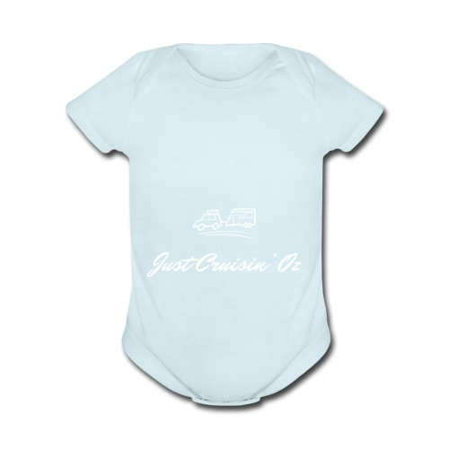 Just CruisinOz - Organic Short Sleeve Baby Bodysuit
