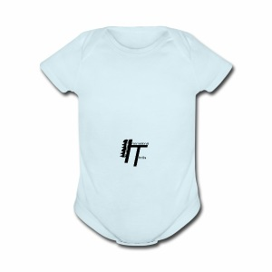 International thrills logo - Short Sleeve Baby Bodysuit