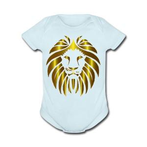 Lion United - Short Sleeve Baby Bodysuit