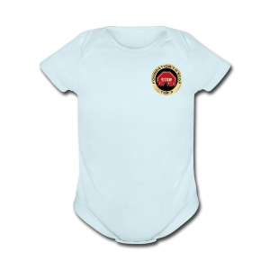Foundation to Stop Top 2 - Short Sleeve Baby Bodysuit